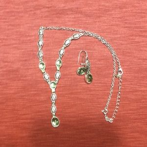 Avon Necklace and earrings